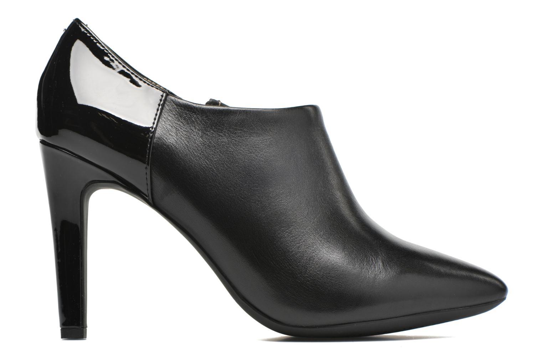 Bottines et boots Geox D CAROLINE A D64W1A Noir vue derrière