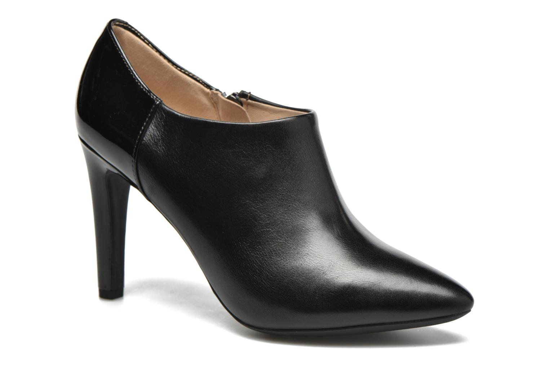 Bottines et boots Geox D CAROLINE A D64W1A Noir vue détail/paire
