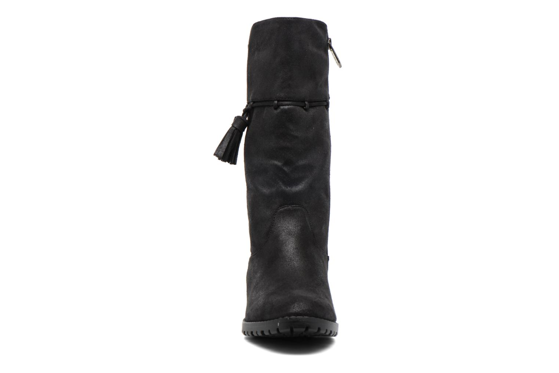 Bottines et boots Les P'tites Bombes Everest Noir vue portées chaussures