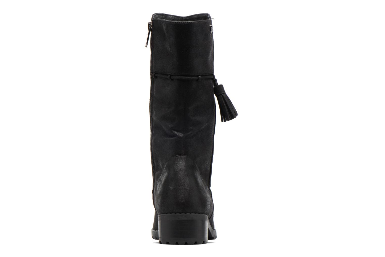 Bottines et boots Les P'tites Bombes Everest Noir vue droite