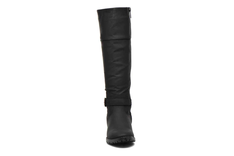 Bottes Les P'tites Bombes Erable Noir vue portées chaussures