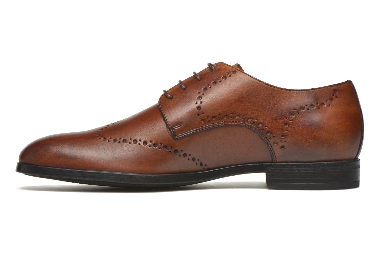 Chaussures à lacets Marvin&Co Nottingham Marron vue face