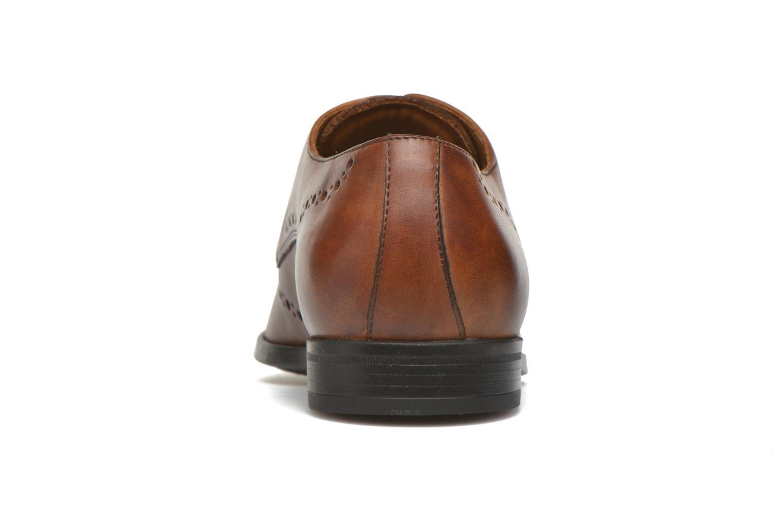 Chaussures à lacets Marvin&Co Nottingham Marron vue droite