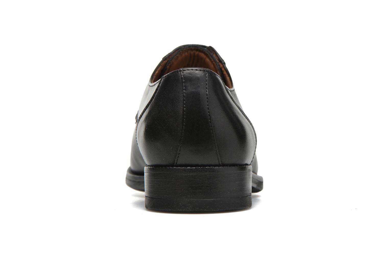 Chaussures à lacets Marvin&Co Newcastle Noir vue droite