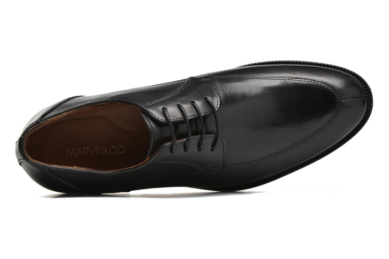 Chaussures à lacets Marvin&Co Newcastle Noir vue gauche