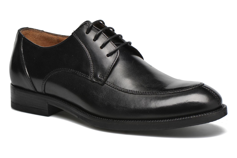 Chaussures à lacets Marvin&Co Newcastle Noir vue détail/paire