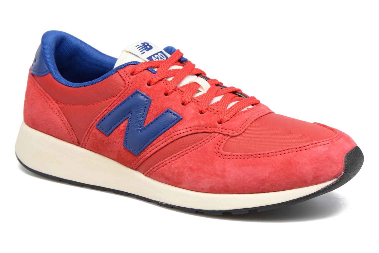 Baskets New Balance MRL420 Rouge vue détail/paire