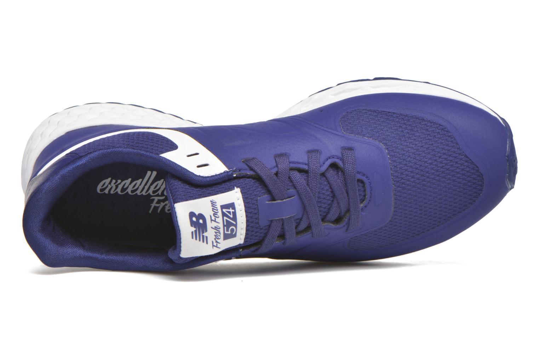 Baskets New Balance WFL574 Bleu vue gauche