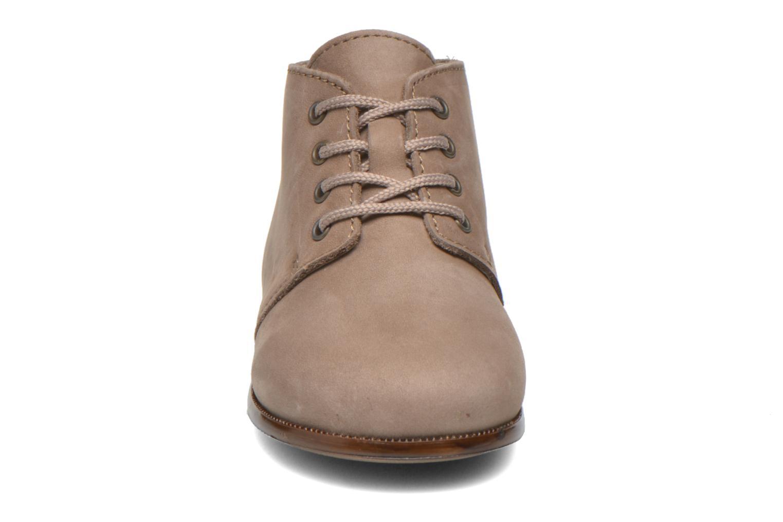 Chaussures à lacets Aster Odria Marron vue portées chaussures