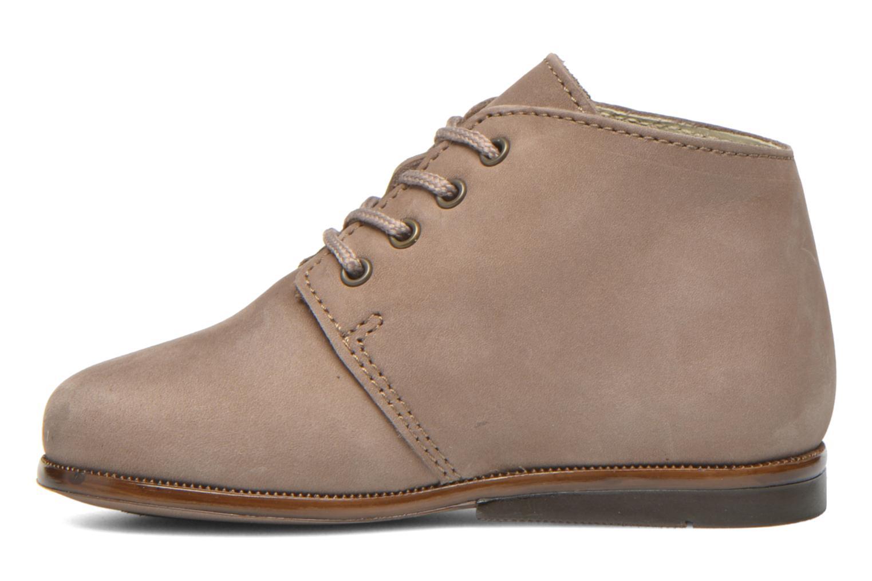 Chaussures à lacets Aster Odria Marron vue face