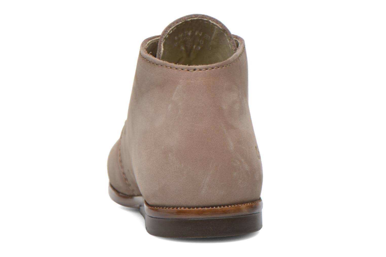 Chaussures à lacets Aster Odria Marron vue droite