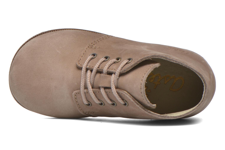 Chaussures à lacets Aster Odria Marron vue gauche