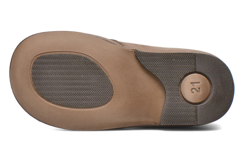 Chaussures à lacets Aster Odria Marron vue haut