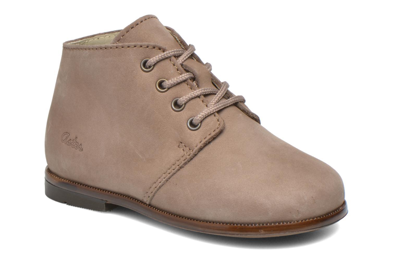 Chaussures à lacets Aster Odria Marron vue détail/paire