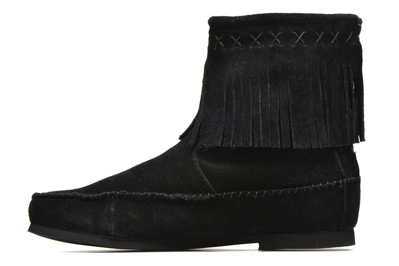 Bottines et boots Les Tropéziennes par M Belarbi Crabe Noir vue face
