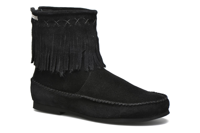 Bottines et boots Les Tropéziennes par M Belarbi Crabe Noir vue détail/paire