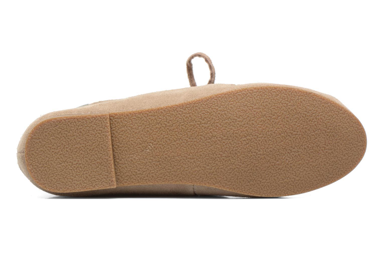 Bottines et boots Les Tropéziennes par M Belarbi Ginika Beige vue haut