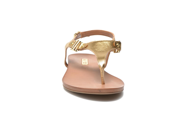 Sandales et nu-pieds Aldo ASHLEY Or et bronze vue portées chaussures