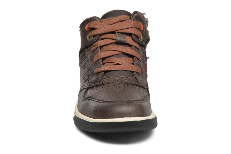 Baskets Timberland Groveton WarmLined Boot Marron vue portées chaussures
