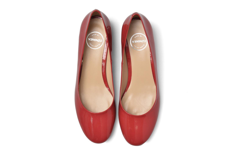 Ballerines Made by SARENZA Sugar Shoegar #10 Rouge vue portées chaussures