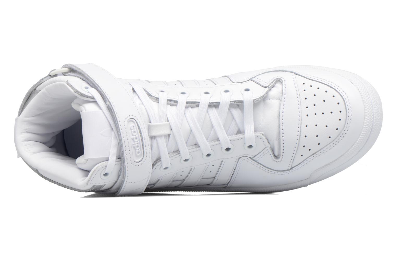 Baskets Adidas Originals Forum Mid Refined Blanc vue gauche