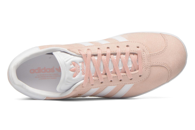Baskets Adidas Originals Gazelle W Rose vue gauche