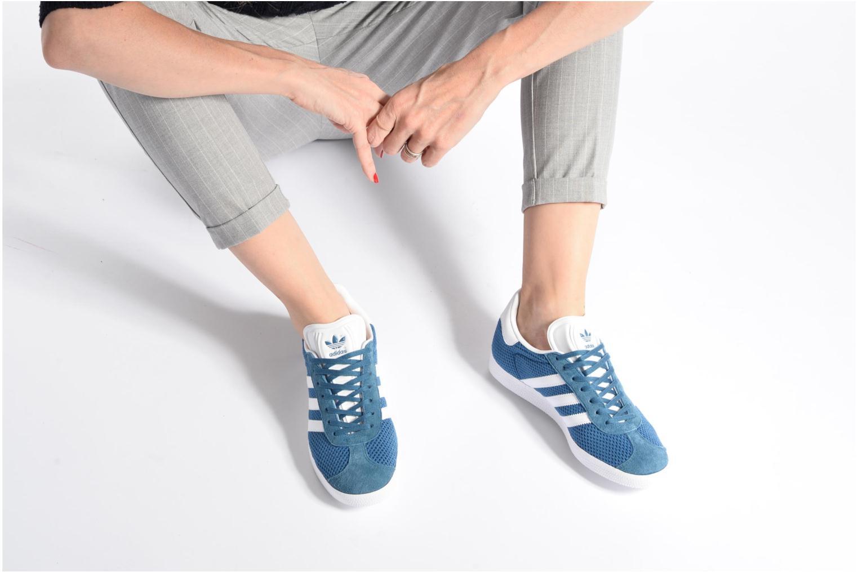 Sneakers Adidas Originals Gazelle W Arancione immagine dal basso
