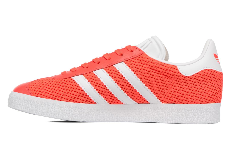 Baskets Adidas Originals Gazelle W Orange vue face