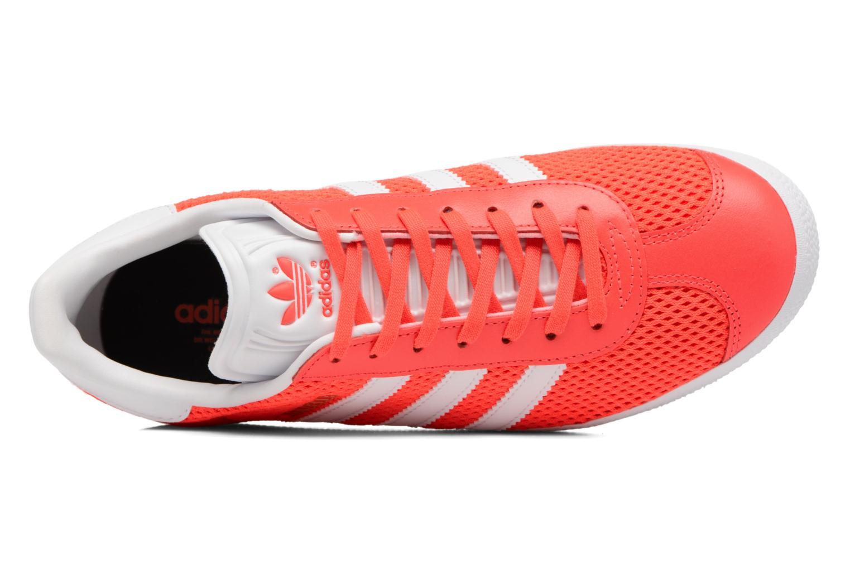 Baskets Adidas Originals Gazelle W Orange vue gauche