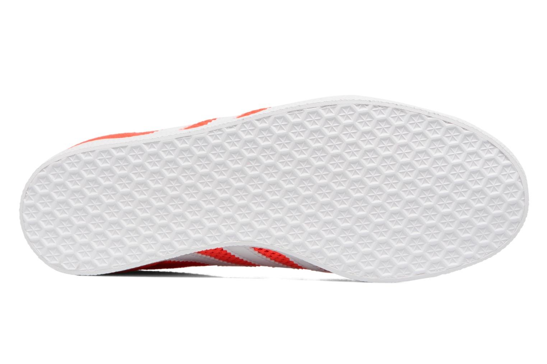 Baskets Adidas Originals Gazelle W Orange vue haut