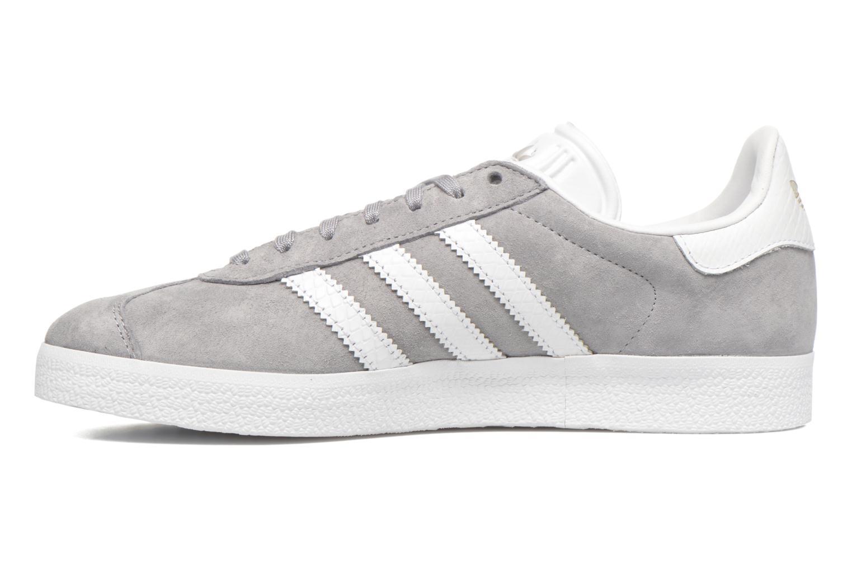 Sneaker Adidas Originals Gazelle W grau ansicht von vorne