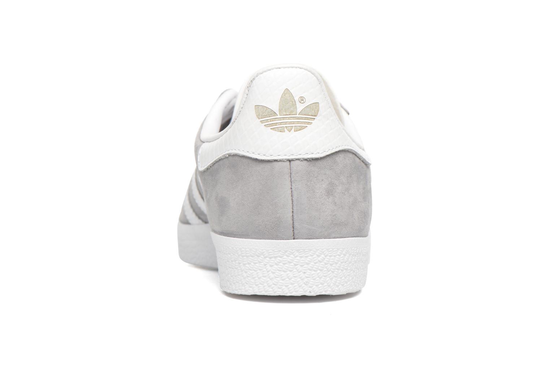 Sneaker Adidas Originals Gazelle W grau ansicht von rechts