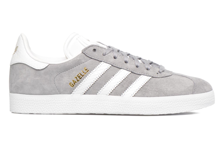 Sneaker Adidas Originals Gazelle W grau ansicht von hinten