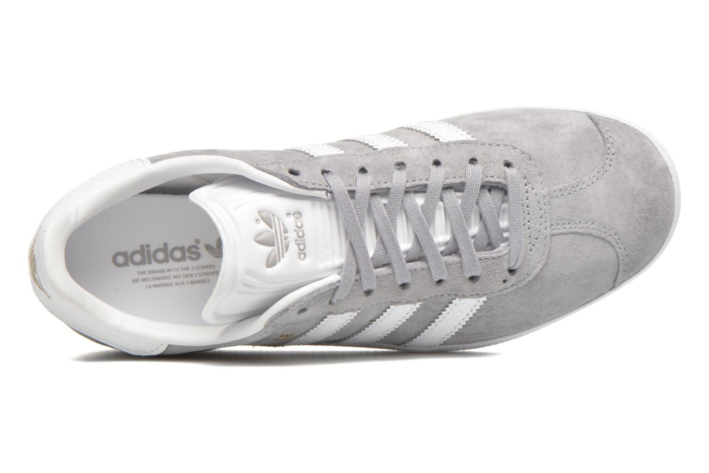 Sneaker Adidas Originals Gazelle W grau ansicht von links