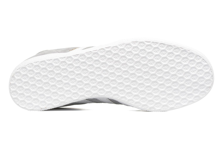 Sneaker Adidas Originals Gazelle W grau ansicht von oben