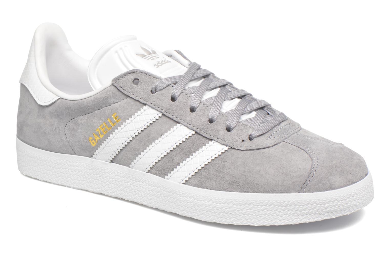 Sneakers Adidas Originals Gazelle W Grå detaljerad bild på paret