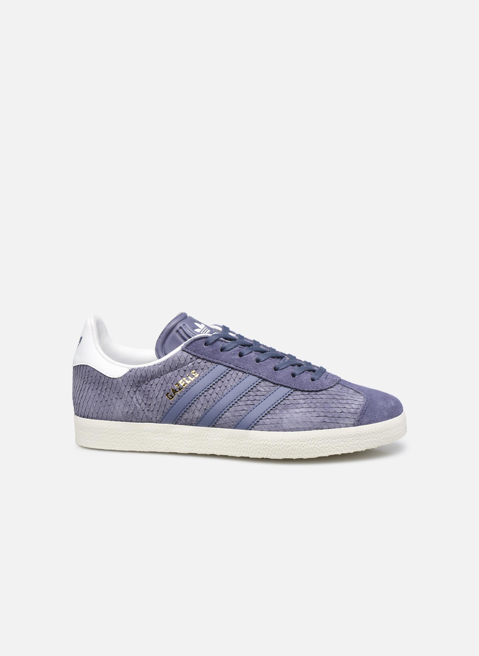 Baskets Adidas Originals Gazelle W Violet vue derrière