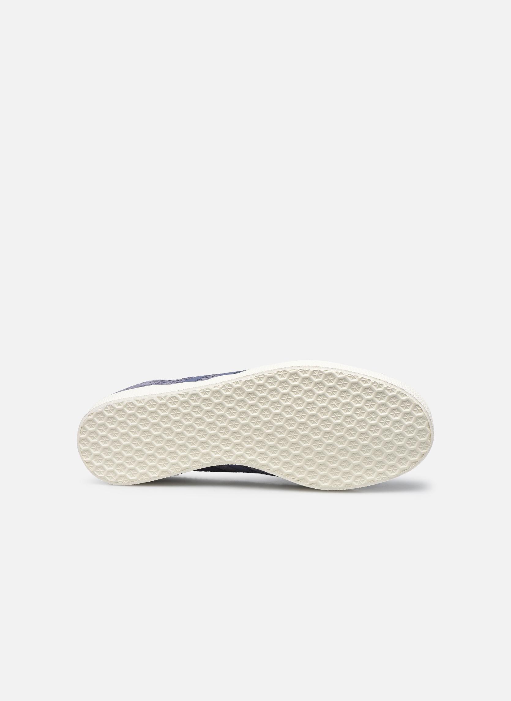 Baskets Adidas Originals Gazelle W Violet vue haut