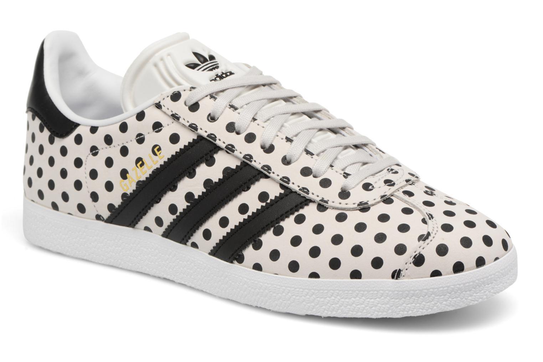 Baskets Adidas Originals Gazelle W Gris vue détail/paire