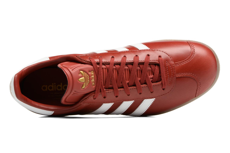Sneaker Adidas Originals Gazelle weinrot ansicht von links