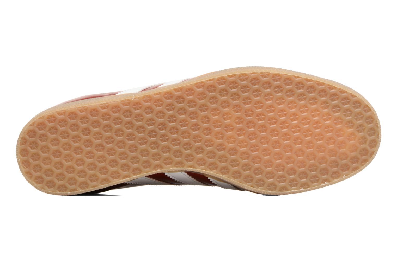 Baskets Adidas Originals Gazelle Bordeaux vue haut