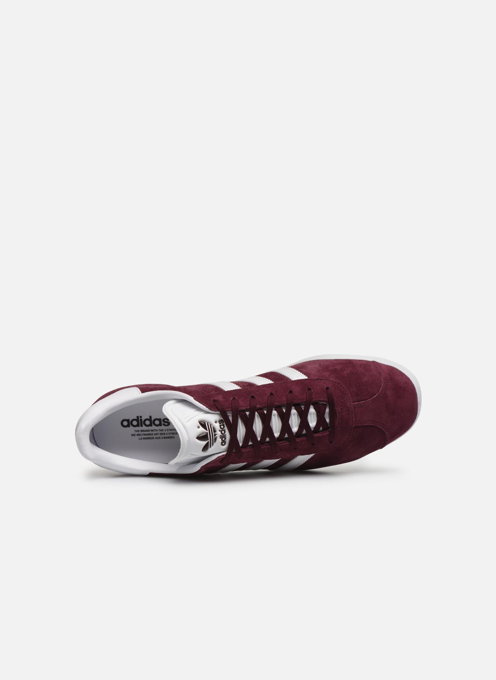 Sneakers Adidas Originals Gazelle Bordò immagine sinistra