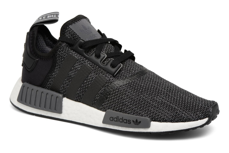 Sneakers Adidas Originals Nmd_R1 Sort detaljeret billede af skoene