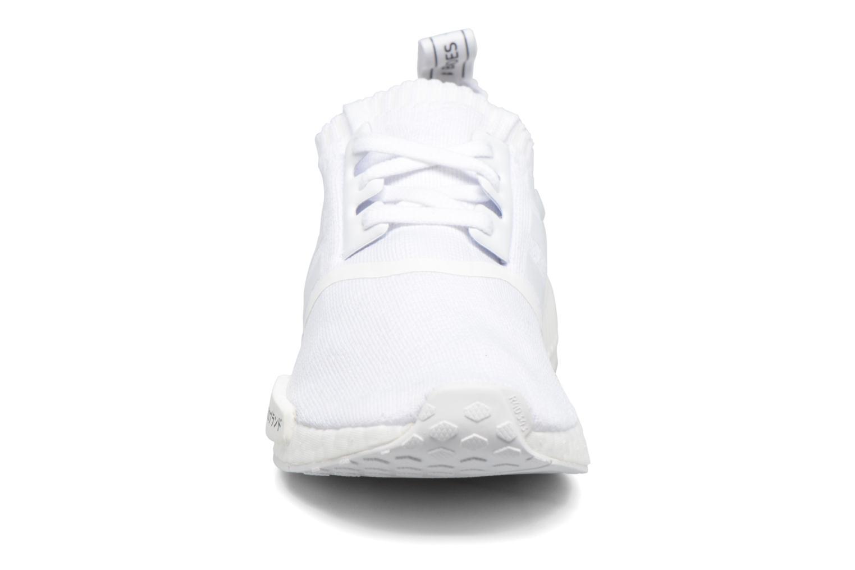Baskets Adidas Originals Nmd_R1 Pk Blanc vue portées chaussures