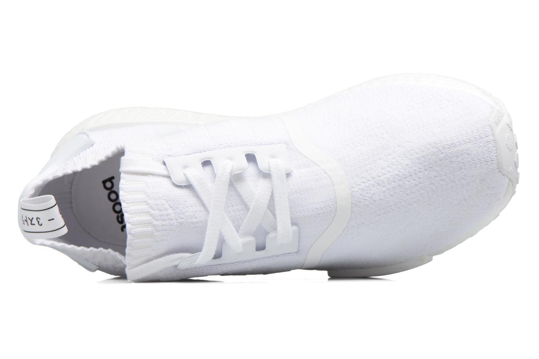 Baskets Adidas Originals Nmd_R1 Pk Blanc vue gauche