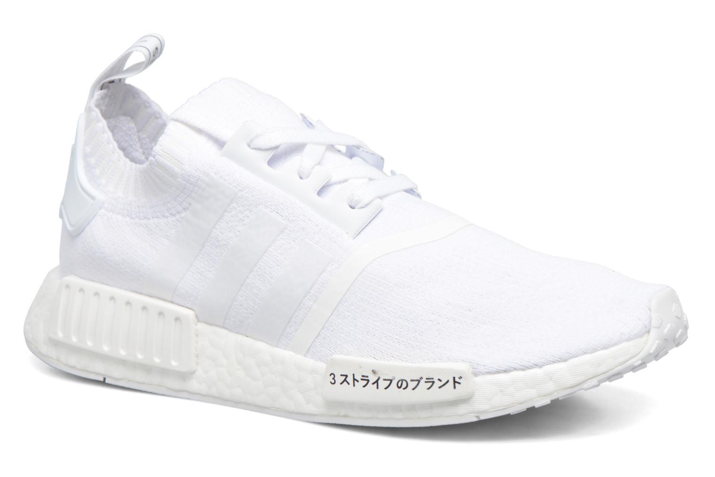 Baskets Adidas Originals Nmd_R1 Pk Blanc vue détail/paire