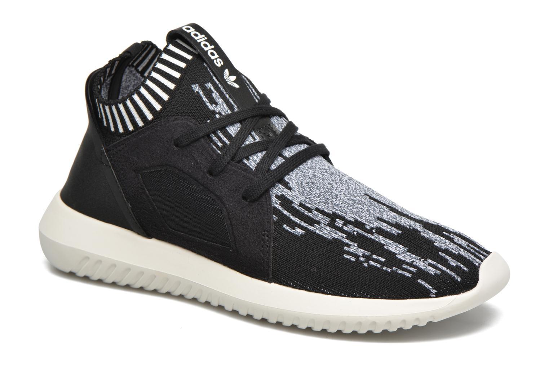 Deportivas Adidas Originals Tubular Defiantpk W Negro vista de detalle / par