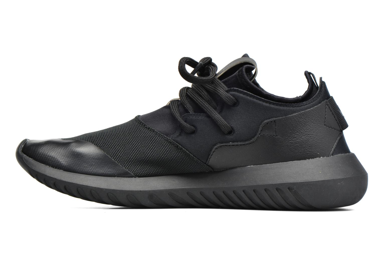Baskets Adidas Originals Tubular Entrap W Noir vue face
