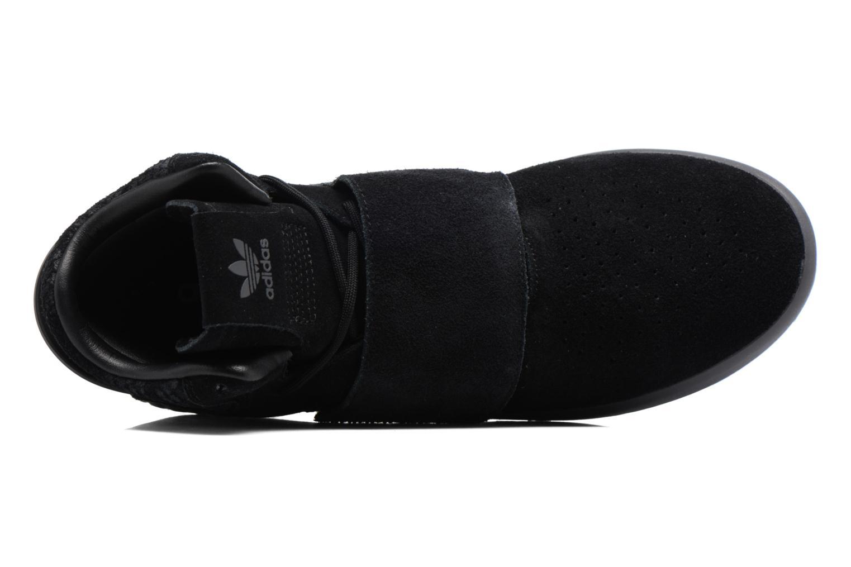 Sneakers Adidas Originals Tubular Invader Strap Zwart links