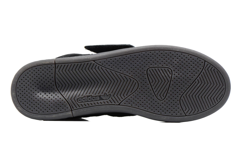 Sneakers Adidas Originals Tubular Invader Strap Zwart boven